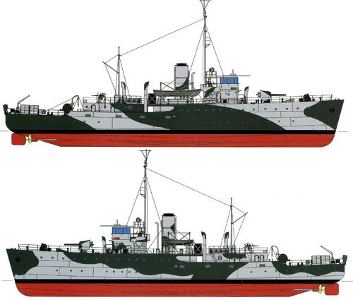 HMAS Wallaroo (Bathurst-class Corvette) (1942)