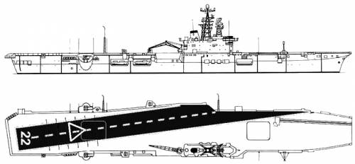 HMCS Bonaventure CVL-22 (Light Carrier)