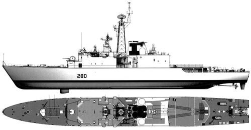 HMCS Iroquois DD-280 (Destroyer)