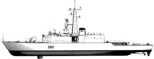 HMCS Iroquois DDG 280 TRUMP (Destroyer)