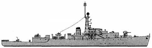 HMCS Loch Morlich (Frigate) - Canada (1944)