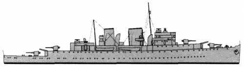 HMCS Prince David (Auxiliary cruiser) - Canada (1939)