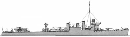 HMCS St. Francis (Destroyer) (1943)