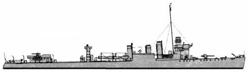 HMCS St. Francis (Destroyer) - Canada (1943)