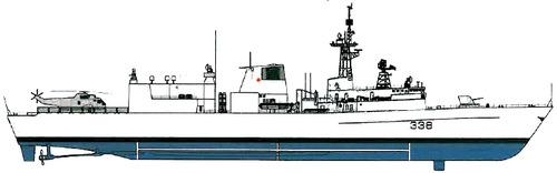 HMCS Winnipeg FFH-338 (Frigate)