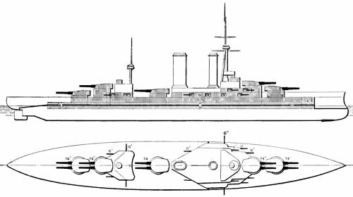 BACH Almirante Latorre  (Battleship ex HMS Canada) - Chile (1923)