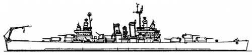 BACH Capitan Prat (Light Cruiser ex USS Nashville) - Chile