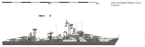 Ch DD Almirante Williams