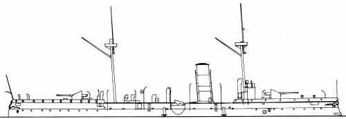 China - Chih Yuan [Protected Cruiser]