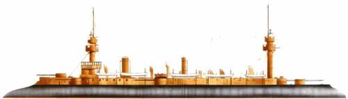 NMF Dupuy de Lome (Armoured Cruiser) (1888)