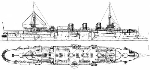 NMF Pothuau (Armoured Cruiser) (1899)
