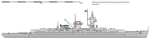 D CA Deutschland Admiral Graf Spee