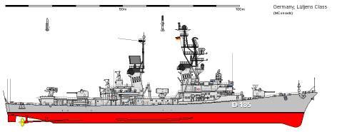 D DDG Klasse 103 Lutjens