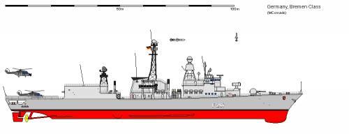 D FF Klasse 122 Bremen