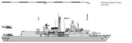 D FF Klasse 122 Meko 360 Bremen AU