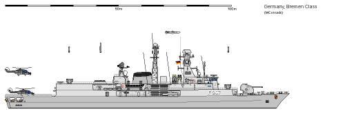 D FF Klasse 122b Meko 360 Bremen AU