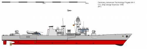 D FFG Advanced Technology Frigate Mk II (1990)