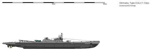 D SSK Type XXA-C1 AU
