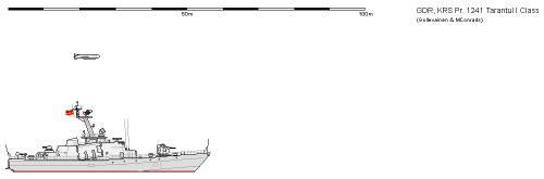 DDR FAC 1241.1 Tarantul I
