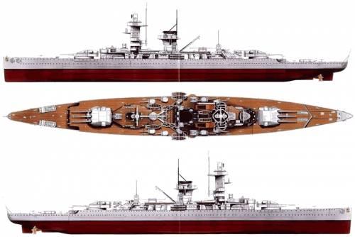 DKM Admiral Graf Spee (Pocket Battleship) (1938)