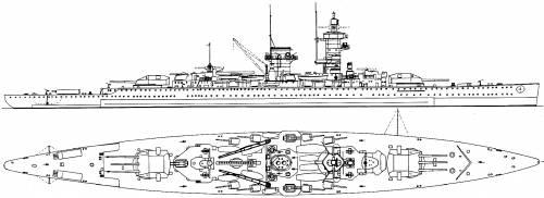 DKM Admiral Graf Spee [Pocket Battleship] (1939)