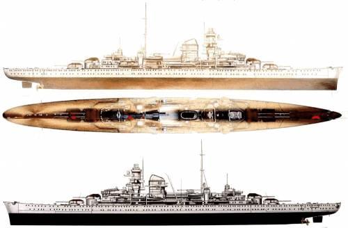 DKM Admiral Hipper (Heavy Cruiser) (1940)