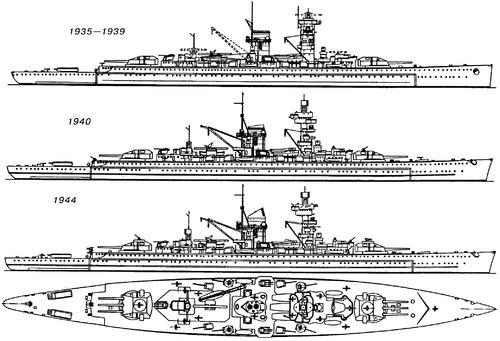 DKM Admiral Scheer (Pocket Battleship)