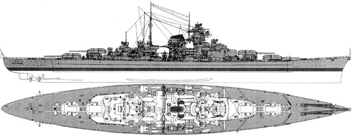 DKM Bismarck (Battleship) (1939)