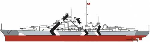 DKM Bismarck [Battleship] (1940)