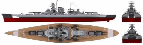 DKM Bismark (Battleship) (1940)