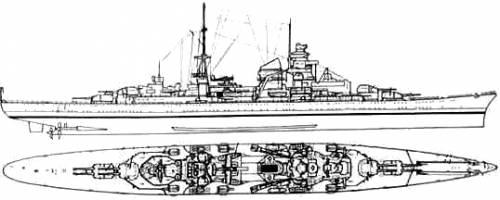 DKM Blucher (Heavy Cruiser)