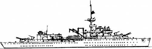 DKM Brummer [Training Ship] (1940)
