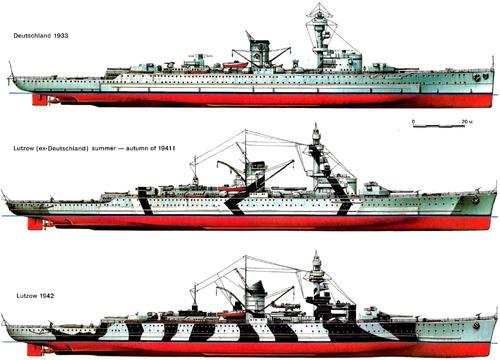 DKM Deutschland [Pocket Battleship]
