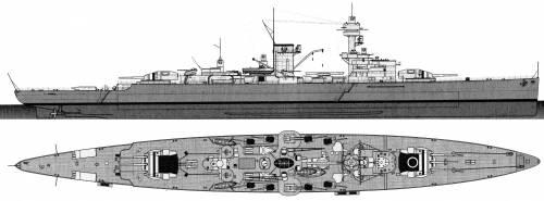 DKM Deutschland [Pocket Battleship] (1937)