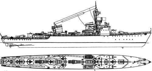 DKM Flottentorpedoboot Typ 44
