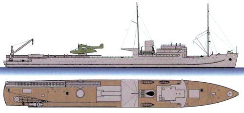 DKM Friesenland 1939 [Seaplane Tender]