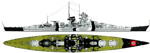 DKM Gneisenau 1940 [Battlecruiser]