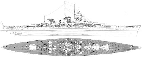 DKM Gneisenau 1941 [Battlecruiser]