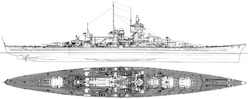 DKM Gneisenau 1942 [Battlecruiser]