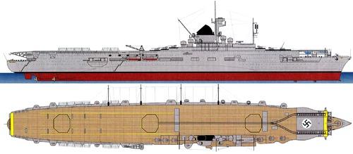 DKM Graf Zeppelin 1942 (Aircraft Carirer)