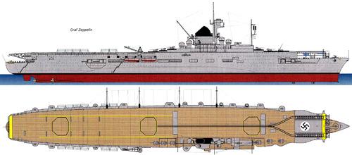 DKM Graf Zeppelin (Aircraft Carirer) (1943)