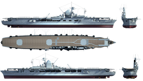 DKM Graf Zeppelin (Aircraft Carrier) (1945)