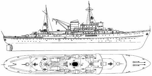 DKM Gustav Nachtigal [Schnellboot Tender] (1944)