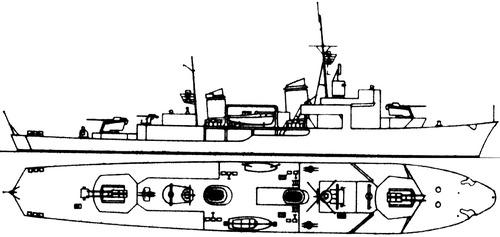 DKM K1 1941 [Corvette]