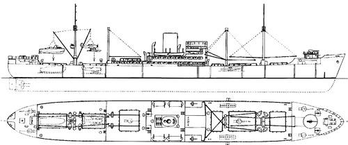 DKM Kormoran HSK-8 1941 (Auxiliary Steiermark)