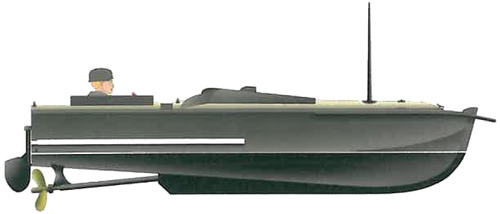 DKM Linse Type I (Sprengboot) (1944)
