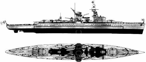 DKM Lutzow (Pocket Battleship)