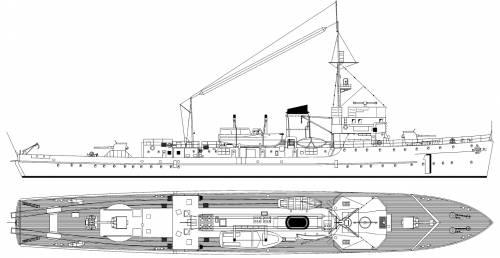 DKM M-1 M-Boot Typ- [Patrol Boat] (1935)