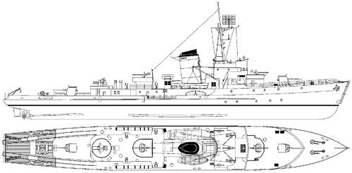 DKM M-Boot Typ-1943 [Torpedo Boat]