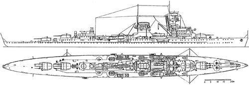 DKM Nurnberg (Light Cruiser) (1935)